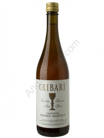 Cribari Vineyards Golden Angelica Altar Wine - 750ML Bottle Size