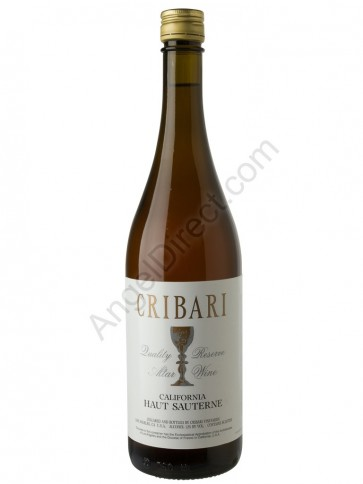Cribari Vineyards Haut Sauterne Altar Wine - 750ML Bottle Size
