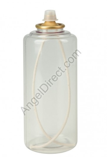 Lux Mundi Altar Pure 45-Hour, Clear, Disposable Oil Canister - Case Of 12 Canisters