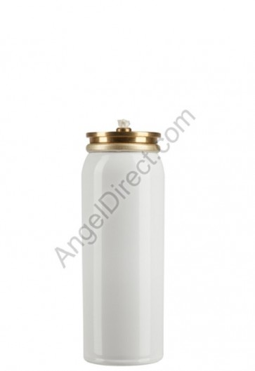 "Lux Mundi Refillable, 10-Hour, Metal ""Short"" Oil Canister"