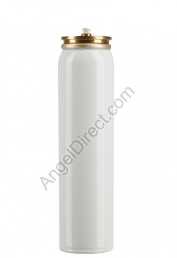 Lux Mundi Refillable, 25-Hour, Metal Oil Canister