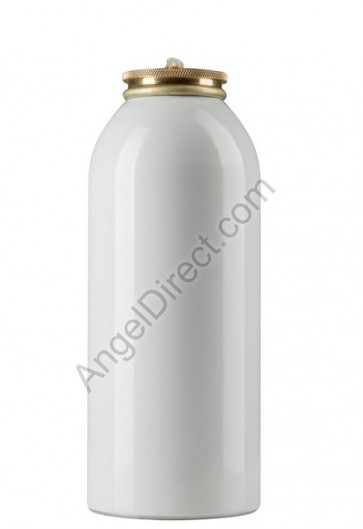 Lux Mundi Refillable, 45-Hour Metal Oil Canister