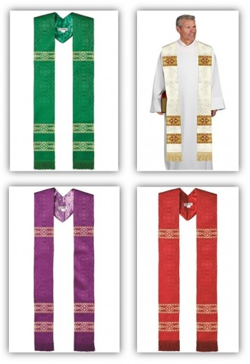 R.J. Toomey Avignon Collection Set Of Four Overlay Stoles