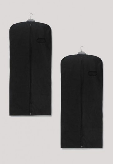 "R.J. Toomey Black, 62"" Long Vestment/Garment Travel Bag - Set Of 2 Bags"