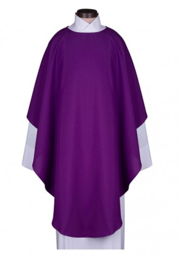 R.J. Toomey Everyday Collection Purple Chasuble With Inner Stole