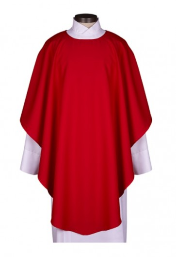 R.J. Toomey Everyday Collection Red Chasuble With Inner Stole