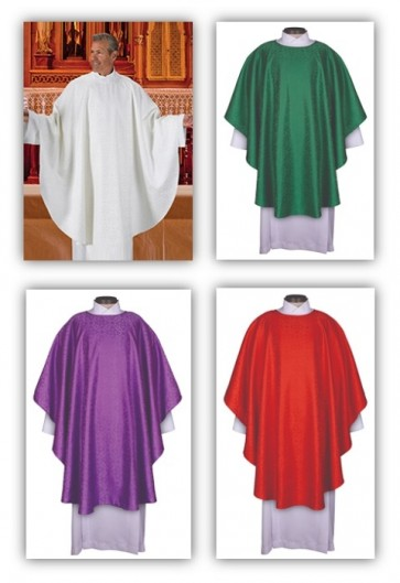 R.J. Toomey Everyday Jacquard Collection Set Of Four Chasubles With Inner Stoles