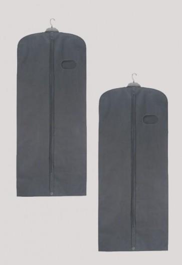 "R.J. Toomey Gray, 62"" Long Vestment/Garment Travel Bag - Set Of 2 Bags"