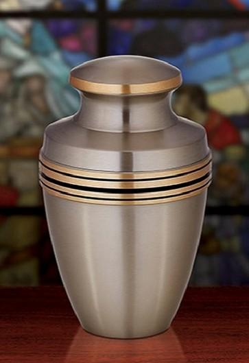 Sudbury Brass Metal Cremation Urn