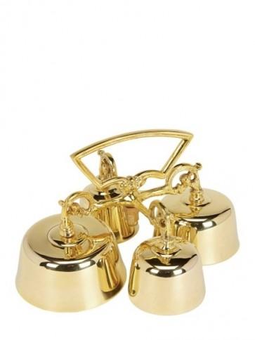 Sudbury Brass Sanctus Hand-Held Bell Set With Four Bells