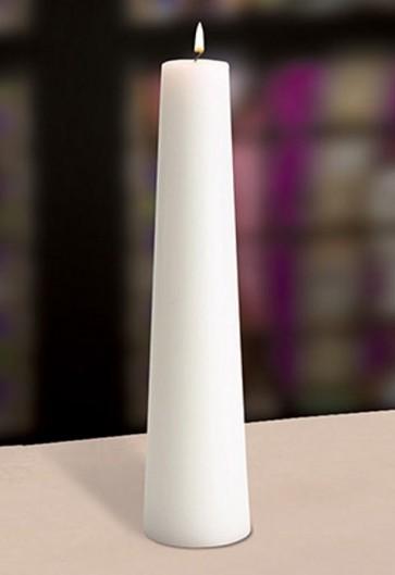 "Will & Baumer 3""D Plain Christ Candle"