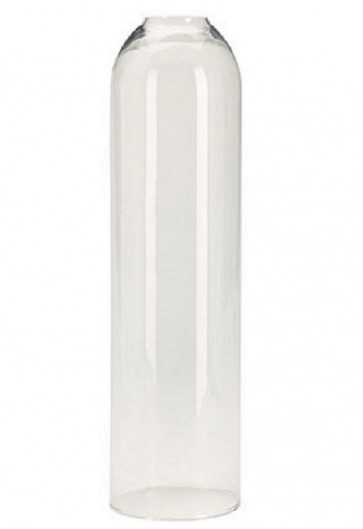 Will & Baumer Clear, 14-Day Glass Sanctuary Candle Globe