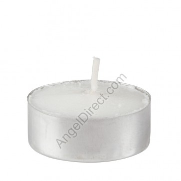 Will & Baumer Twinkle T-Lite Metal, 4-6 Hour Disposable Votive Candle - Case Of 500 Candles