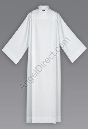 Abbey Brand 100% Polyester Front Wrap Alb