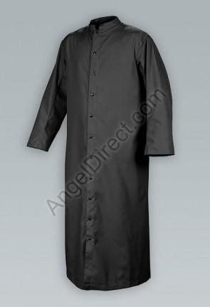 Abbey Brand Comfort Cut Black, Adult Cassock