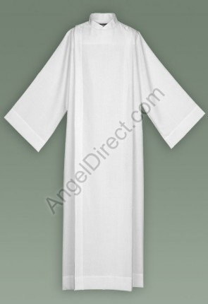 Abbey Brand Polyester/Cotton Front Wrap Server Alb