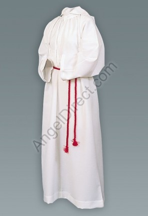 Abbey Brand Polyester/Cotton Monastic Server Alb