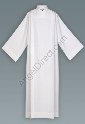 Abbey Brand Polyester/Cotton Front Wrap Alb