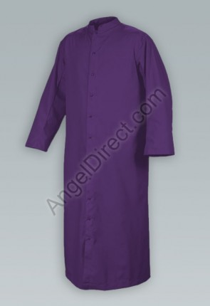 Abbey Brand Comfort Cut Purple, Adult Cassock