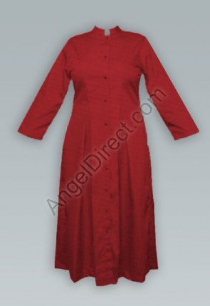 Abbey Brand Fitted, Red Women's Cassock