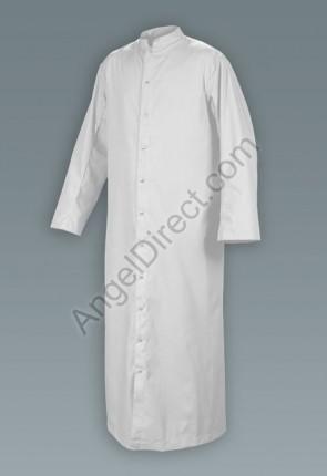 Abbey Brand Full Cut, White Adult Cassock