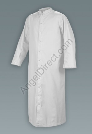 Abbey Brand Comfort Cut White, Adult Cassock