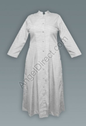 Abbey Brand Fitted, White Women's Cassock