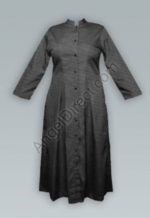 Abbey Brand Fitted, Black Women's Cassock