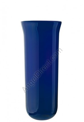 Angel Direct Blue, 7-8 Day Glass Sanctuary Candle Globe