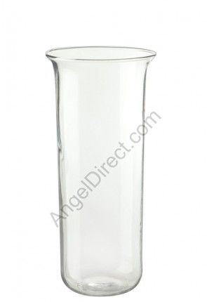 Angel Direct Clear, 7-8 Day Glass Sanctuary Candle Globe