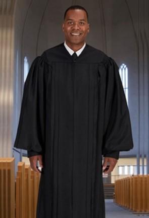 "Cambridge Black ""Classic"" Pulpit Robe"