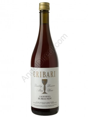 Cribari Vineyards Burgundy Altar Wine - 750ML Bottle Size