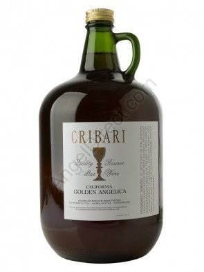Cribari Vineyards Golden Angelica Altar Wine - 4 Liter Bottle Size