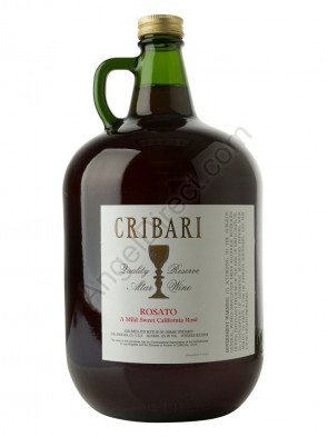 Cribari Vineyards Rosato Altar Wine - 4 Liter Bottle Size