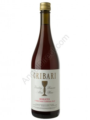 Cribari Vineyards Rosato Altar Wine - 750ML Bottle Size