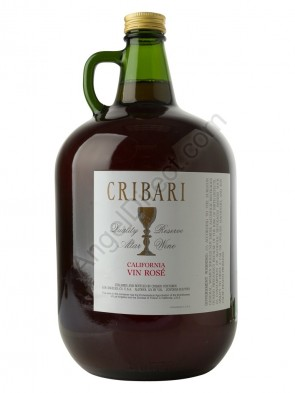 Cribari Vineyards Vin Rosé Altar Wine - 4 Liter Bottle Size
