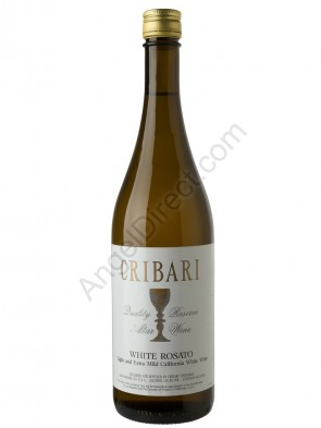 Cribari Vineyards White Rosato Altar Wine - 750ML Bottle Size