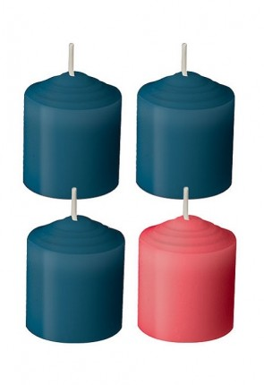 Dadant Candle 10-Hour, Advent Votive Candle Set