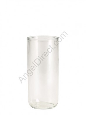 Dadant Candle 3-Day Clear, Permanent Glass Globe - Case Of 12 Globes
