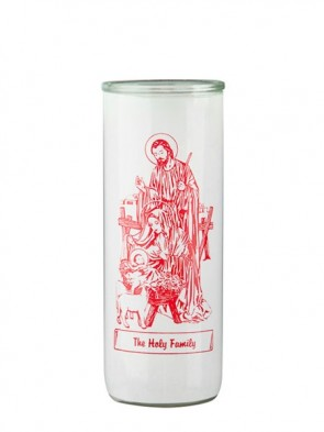 Dadant Candle Holy Family Glass Globe - Case of 12 Globes