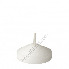 Dadant Candle White, Molded Wax, 2-Hour Straight-Side Votive Candle - 4GR Case