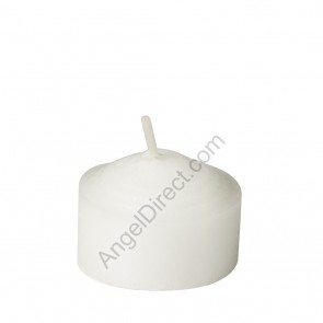 Dadant Candle White, Molded Wax, 4-Hour Straight-Side Votive Candle - 3GR Case