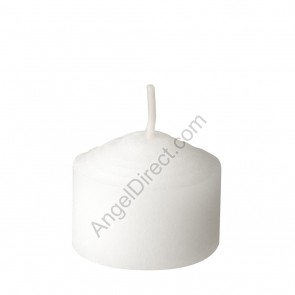 Dadant Candle White, Molded Wax, 6-Hour Straight-Side Votive Candle - 3GR Case