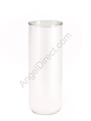 Dadant Candle White, Permanent Glass Globe - Case Of 12 Globes