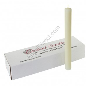 Dadant Candle 51% Beeswax Altar Candles