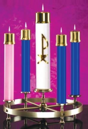 Lux Mundi Blue/Pink Candle Shell Set