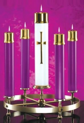 Lux Mundi Purple Candle Shell Set