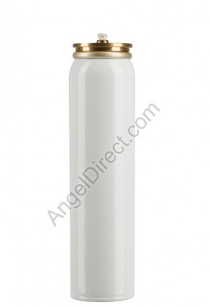 Lux Mundi Refillable, 25-Hour Metal Oil Canister