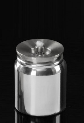 Lux Mundi Aluminum, Refillable Acolyte Canister