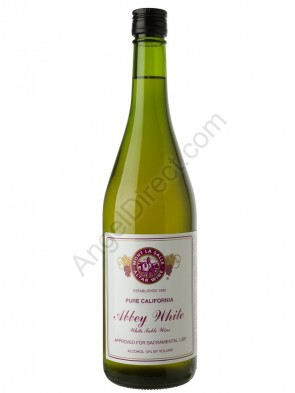Mont La Salle Abbey White Altar Wine - 750ML Bottle Size